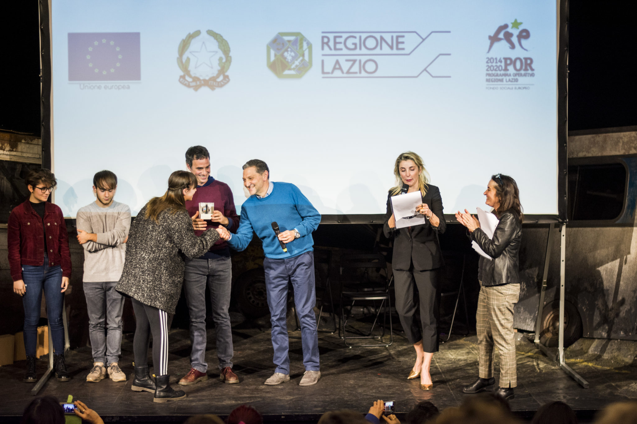 """Crazy For Football"" awarded by Italian students"