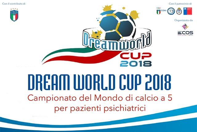 Martedì 8 Maggio conferenza stampa di presentazione della Dream World Cup 2018