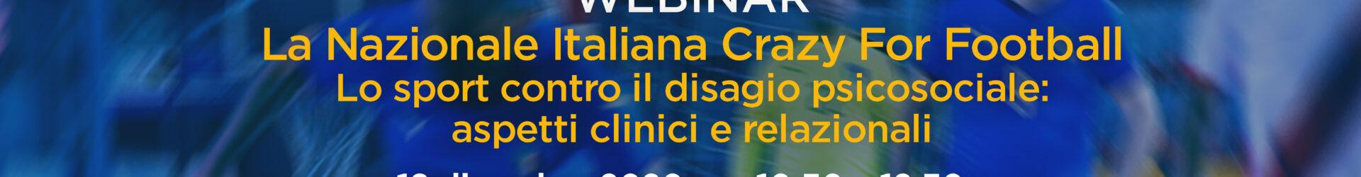 "18th December: ""Crazy for Football"" webinar"